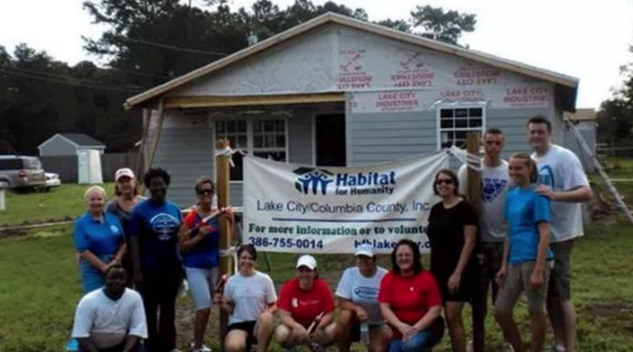 Habitat For Humanity - Lake City Florida - Project 4