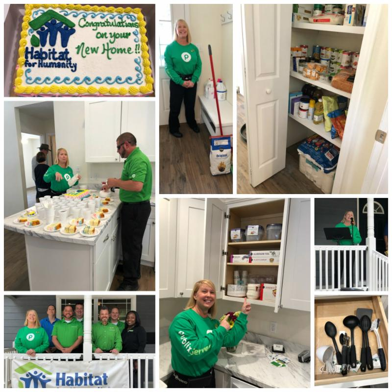 Habitat for Humanity Lake City - Publix-Collage